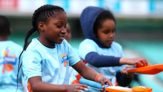 Tens of thousands of children have signed up for the All Stars Cricket programme