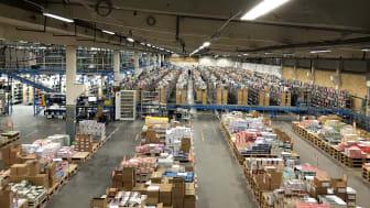 Adlibris skickade 5 000 000 paket förra året