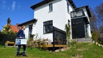 Under coronanedlukningen er prisnedslagene på villaer skrumpet med 48 pct., ejerlejligheder med 59 pct. og fritidsboliger med 83 pct.