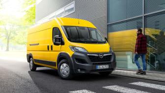 Nya Opel Movano-e.