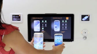Digital skyltning för smartphones och tablets