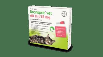 Dronspot® vet – nu lanseras en enkel, receptfri avmaskningsmetod för  katt