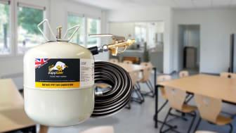Helpotusta koronaviruksen torjuntaan – Uusi puhdistusaine desinfioi pinnat ja tuhoaa 99,9% bakteereista