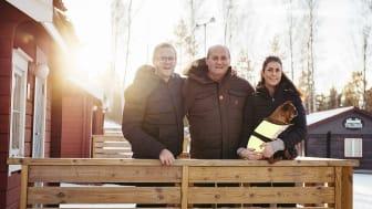 Lars-Göran har drivit Vimmerby Camping i 18 år, nu lämnar han över till Hampus och Elisabeth. Foto: Daniel Nestor