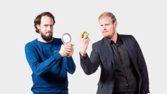 Sebastian Ilves och Benjamin Lillandt, grundarna av ZeroAtlas. Foto: Johanna Herbst