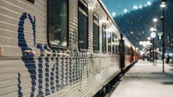 Snälltåget öppnar bokningen för vintern 2022 och utökar trafiken till de österrikiska alperna