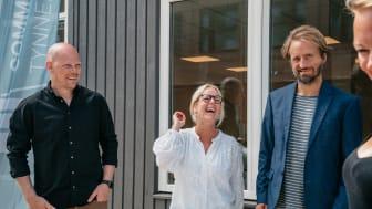 Daniel Helander, Linda Sandin, Emil Mattsson