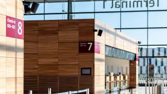 BER Flughafen T1 innen