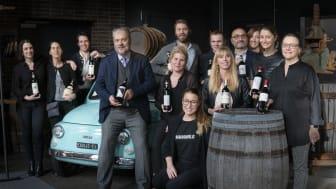 Åtta handplockade kvalitetsproducenter från Chianti Classico gästade The Winery Hotel i helgen