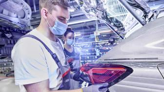 Audi starter produktionen af den elektriske Q4 e-tron