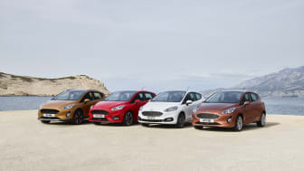 Ford presenterar nästa generations Ford Fiesta.