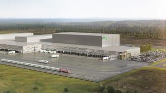 109 000 kvadratmeter stort blir Coops nya centrallager