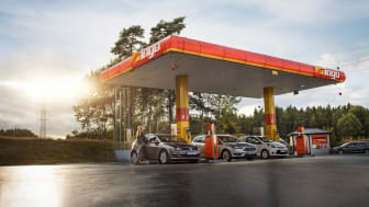 INGO öppnar automatstation i Bäckefors