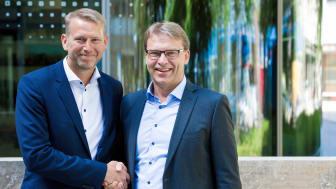 Peter Carlsson och Ulf Troedsson