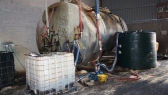 Man arrested in Meigh fuel fraud raid