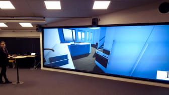 Luleå tekniska universitets nya VR-studio.