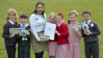 Budding authors work on nationwide recycling book