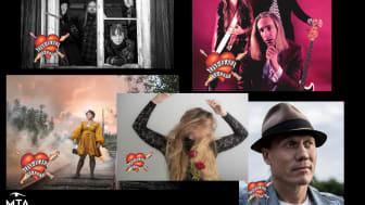 MTA Production presenterar en rad spännande artister på årets Live at Heart-festival!