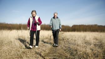 Kühles Wetter verstärkt Schmerzen bei Arthrose: In Bewegung bleiben