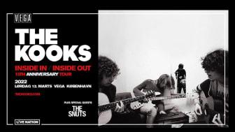 The Kooks annoncerer 15-års jubilæumstour, for udgivelsen af debutalbummet 'Inside In / Inside Out'