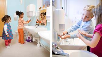 Handtvättskolor för barn - gratis material för lekfull inlärning!