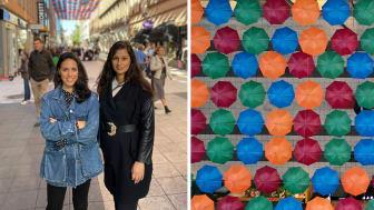 Författarna Tatiana Shalalvand och Indra Sharma