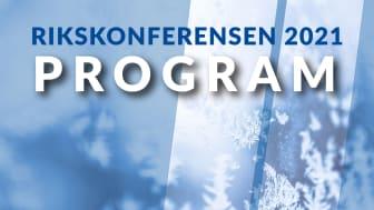 Programmet för Folk och Försvars traditionella Rikskonferens är nu klart.