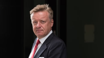 Leder for seksjonen eiendom og entreprenør i DNB, Olav T. Løvstad, er kåret til den tredje mektigste i eiendomsbransjen. Vi har intervjuet Løvstad og hans grønne team om hva sektoren kan forvente fremover. Foto: DNB Bank ASA.