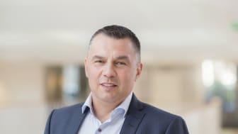Patrik Thulin, vd för Praktikertjänst Närsjukhus.