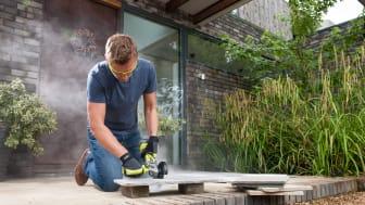 Työkalulla voi esimerkiksi teroittaa teriä, työstää kiviä tai laattoja, poistaa maalia metallipinnoilta ja jopa kiillottaa.