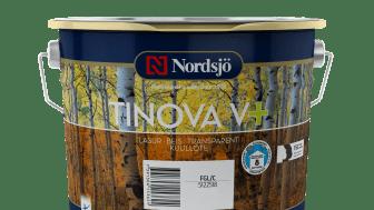 Ny vannbasert eksteriørbeis fra Nordsjö: Patentert bindemiddel med holdbarhet i hele åtte år