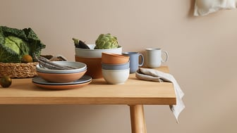 The new Thomas collection Clay radiates a rustic sensuality