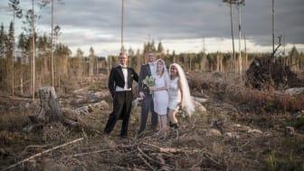 Filmen Bröllopsfotot - finskog och fulskog är nominerad till Publishingpriset. Foto: Sverker Johansson, Bitzer