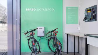 BRABO inför elcykelpool med smarta lås för hyresgäster