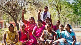 I Hungerprojektets ledarskapsprogram stärks kvinnorna att våga ta plats.