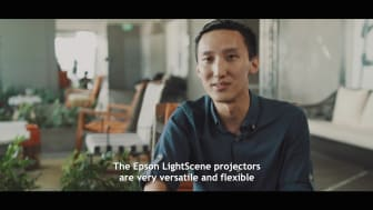 Epson LightScene Accent Lighting Laser Projector Brings Small Spaces to Life