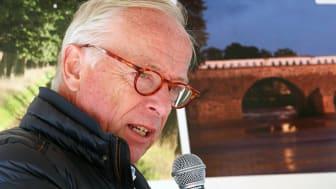 Gunnar Hökmark i Sparbankernas tält på Almedalsveckan