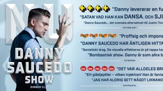 Succé och biljettrusning till Danny Saucedos show på Hamburger Börs! Nu släpps extraföreställningar.
