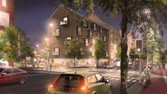 Poseidon och Egnahemsbolaget bygger 500 nya bostäder i Backa Röd