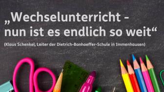 """Vorfreude auf Wechselunterricht als aktuell """"einzige Möglichkeit"""" an Bonhoeffer-Schule in Immenhausen"""