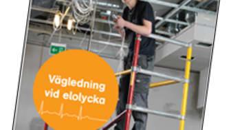 Ny broschyr i samarbete - Vägledning vid elolycka