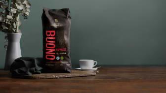 Arvid Nordquist lanserar Espresso Buono – en god nyhet i större förpackning!