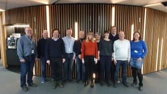 Projektgrupp före start