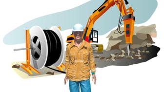 Illustration från utbildningen EBR Kabelförläggning