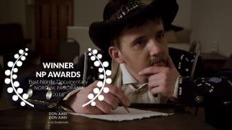 """Winners 2016  Best Nordic Documentary  """"Don Juan"""", Jerzy Sladkowski, 2015, 95 min (Sweden, Finland)"""