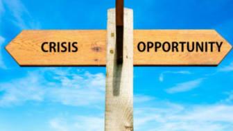 Ur en kris föds ofta något positivt, det gäller bara att hitta det och ta tillvara på det.