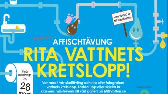 Elever i hela Sverige utmanas i vattenkunskap
