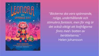 Leonora och Uppdrag Exit av Helen Johansson