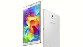 Makalösa färger med nya Samsung Galaxy Tab S
