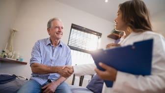 To av tre nordmenn har høy tillit til legen. (Foto: Shutterstock)